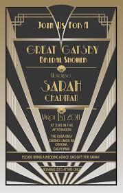 gatsby invitations great gatsby style invitations by platinumshoppette on etsy