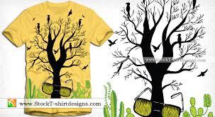 tree vector t shirt designs t shirt design illustrator