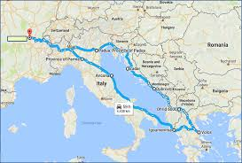 Google Maps Italy by European Civilization