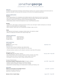 Multiple Page Resume Examples by 3d Artist Resume Sample Resume For Your Job Application