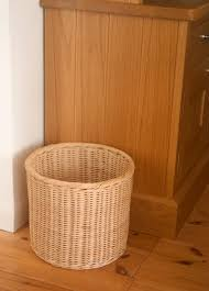 waste paper baskets round rattancore wastepaper basket kosmopolitan