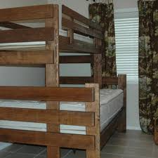 custom made bunk loft twin and day beds by the hillbilly shop