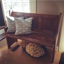 amazon com shaker style hallway bench handmade