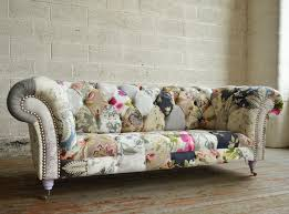 Chesterfield Sofas by Handmade Vintage Grace Floral Patchwork Chesterfield Sofa Abode