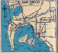 Naval Base San Diego Map by San Diego California Map California Map