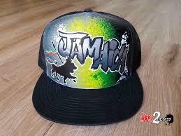 chambre rasta casquette graffiti personnalisée graff custom casquette rasta