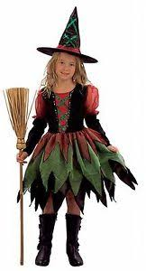 Halloween Costumes Girls Age 10 12 Girls Fancy Dress Halloween Costume Witch Fairy Age 4 5 6 7