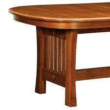 Arts And Crafts Dining Room Furniture by Arts U0026 Crafts Trestle Dining Table Home And Timber