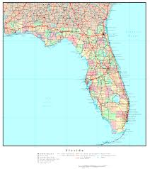 Florida Rivers Map by Florida Political Map