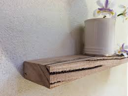 Distressed Wood Shelves by Raw Wood Shelves Marndi Com