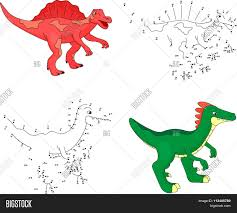 cartoon spinosaurus vector u0026 photo bigstock