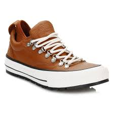 converse all star descent mens antique sepia quilted leather