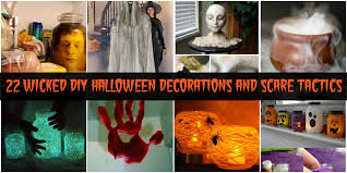 Scary Halloween Decorations Diy by 22 Wicked Diy Halloween Decorations And Scare Tactics Diy U0026 Crafts