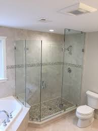 Angled Shower Doors Glass Shower Door Gallery Franklin Glass Company