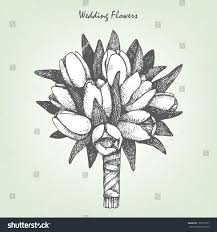 wedding flowers drawing wedding bouquet of flowers drawing bouquet of flowers coloring