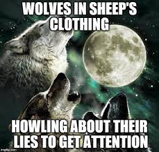 Meme Clothing - 3 wolves and moon imgflip
