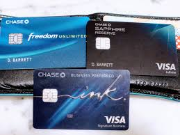 Chase Visa Business Credit Card Trifecta Sapphire Reserve Ink Preferred Freedom Unlimited