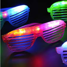 party sunglasses with lights lighting shutter glasses 1pcs party supplies malaysia birthday