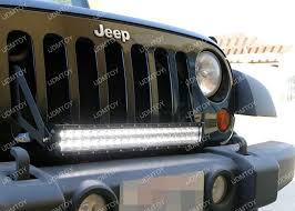 Jeep Led Lights How To Install Jeep Wrangler Led Light Bar System