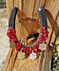 horseshoe ornaments 107 best western christmas ornament horseshoe s images on
