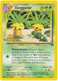 exeggutor southern islands 13 card