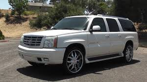 cadillac escalade esv 2007 for sale 2003 cadillac escalade esv on 24 s nav rear ent for sale 14 999
