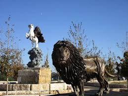 lion of judah statue the lion of judah to be on display during easter events at the
