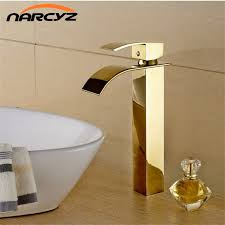 Gold Faucet Bathroom by Online Buy Wholesale Faucet Bathroom Gold From China Faucet
