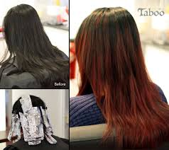 foil highlights for brown hair balayage and ombre highlighting archives karori hairdresser