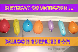 countdown to a healthy thanksgiving balloon surprise birthday countdown the imagination tree