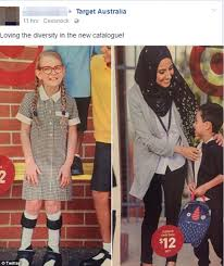 target womens boots australia target causes controversy with catalogue featuring