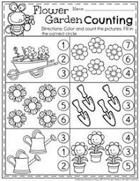 may preschool worksheets flowers garden preschool and worksheets