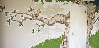 mural nursery wall murals miraculous nursery wall decals walmart