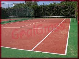 Backyard Tennis Courts Outdoor Artificial Turf Tennis Court Construction Goal Grass