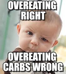 Overeating Meme - overeating right sceptical baby meme on memegen