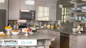 Home Depot Kitchen Cabinets by Video New Martha Stewart Living Kitchens At The Home Depot