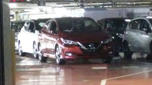 nissan leaf drag coefficient 2018 nissan leaf caught undisguised on the factory floor