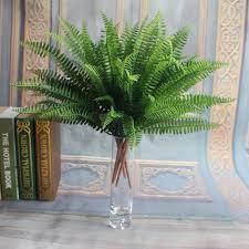 silk plants green artificial fern bouquet silk plants leaves