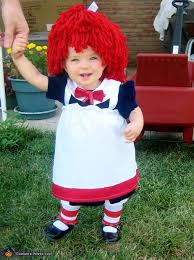 Raggedy Ann Andy Halloween Costumes Adults Ann Costume