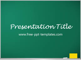 blackboard powerpoint template is a green template which you can