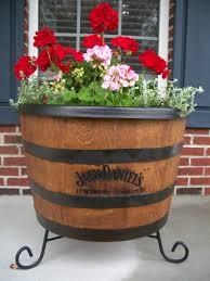 garden design garden design with whiskey barrel planter on