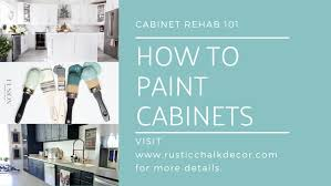 kitchen cabinets workshop how to paint cabinets 101 workshop rustic chalk decor