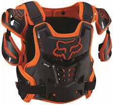 fox motocross trousers fox racing raptor roost guard protectors motocross orange fox