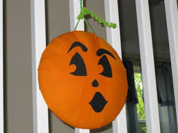 Homemade Halloween Décor Pumpkin Wreaths Decorations And More
