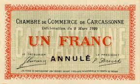 chambre de commerce carcassonne billets de nécessité carcassonne aude chambre de commerce de