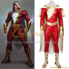 Captain Marvel Halloween Costume Shazam Costume Ebay