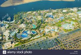 Seaworld Map San Diego by Aerial View Of Seaworld A Marine Life Theme Park In San Diego Bay
