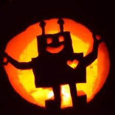 Meme Pumpkin Carving - robot pumpkin for s scary monsters pinterest robot pumpkin