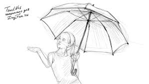 how to draw an umbrella step by step 4 jpg