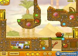 Aquascapes Game Play Online Snail Bob Egypt Game
